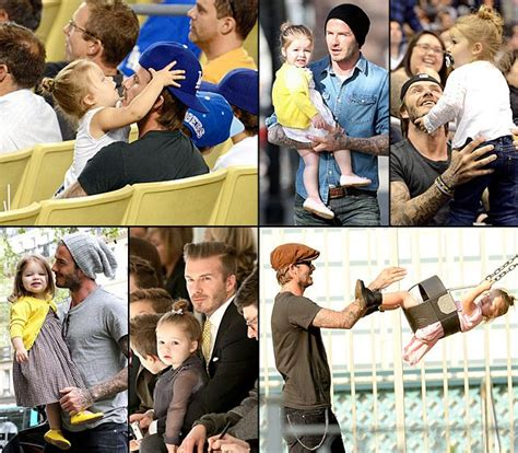 david beckham biography in french david beckham see his life with adorable daughter harper