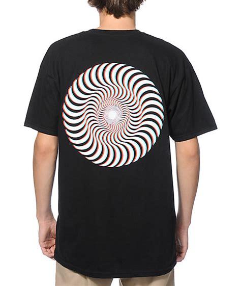 spitfire 3d classic swirl t shirt zumiez