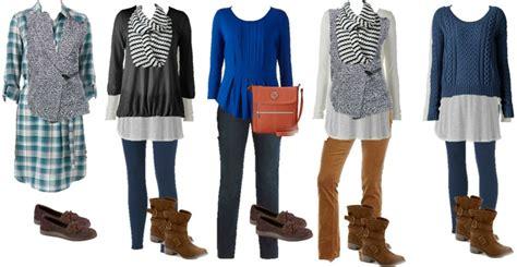 modcloth mix and match wardrobe kohl s mix and match fall casual