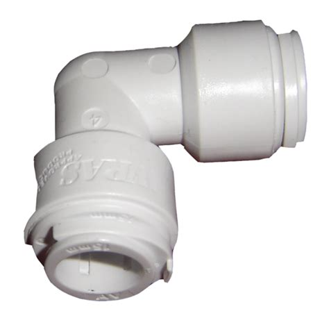 Push Plumbing Fittings by 10mm White Demountable Push Fit With Pipe Inserts