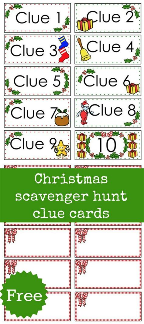 scavenger hunt card template list of scavenger hunt riddles