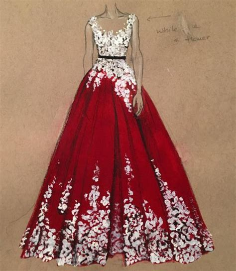 25 best ideas about dress drawing on dress