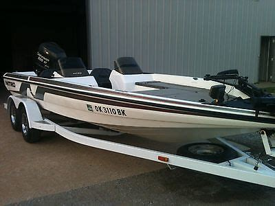 bass boat no motor 1993 nitro 2000 dc for sale in tulsa oklahoma united states
