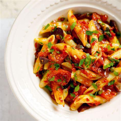 Light Green Veggie Pasta For Dinner by Cherry Tomato And Chilli Pasta Delicious Magazine