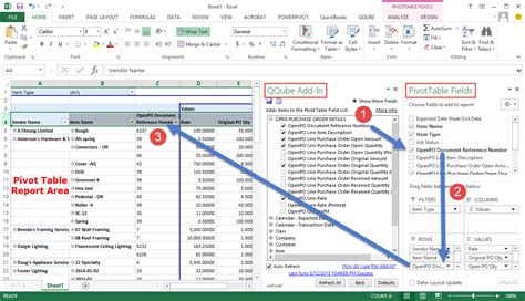 starting a pivot table clearify