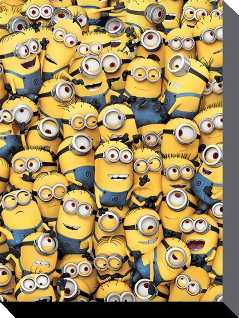 Wall Stickers Picture Frames minions despicable me many minions