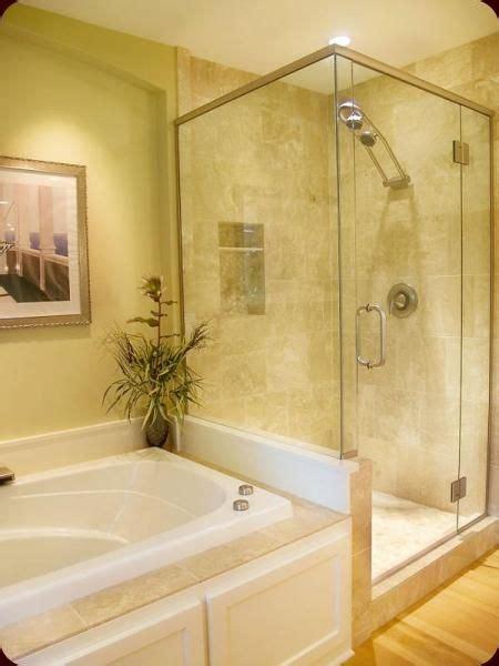 Bathroom And Shower Ideas Shower Next To Tub Design Size Bath Tub The Average
