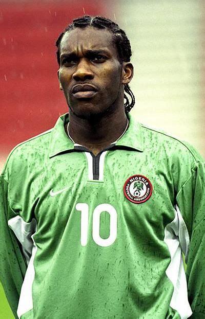 augustine quot quot okocha nigeria 1993 2006 75 caps 14 goals jj okocha so named