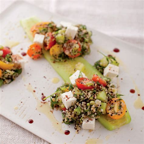 quinoa tabbouleh with feta recipe ina garten food network quinoa tabbouleh with feta cheese and cucumber recipe