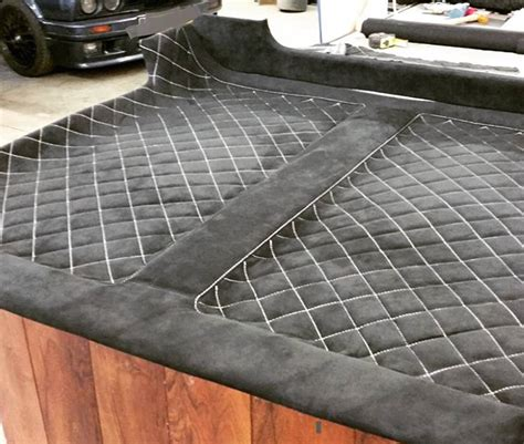 auto upholstery patterns 10 cool custom headliners on instagram