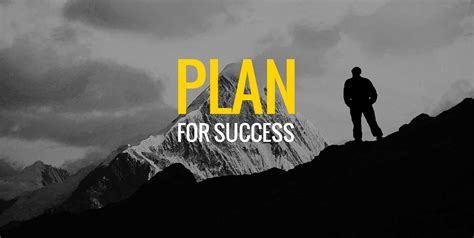 Be A Succes how to plan for success the strategic way the