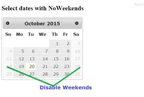 ionic datepicker tutorial jquery ui datepicker disable weekends angular 5