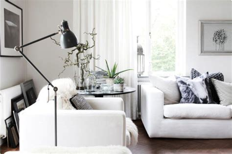White And Grey Interior by Casual Nordic Interior In Black White And Grey Digsdigs