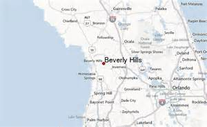 Beverly Hills Florida Map by Beverly Hills Florida Location Guide