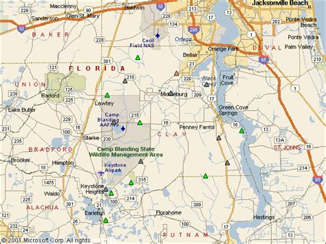 Clay County Florida Records Usgs Water Resources Of The United States
