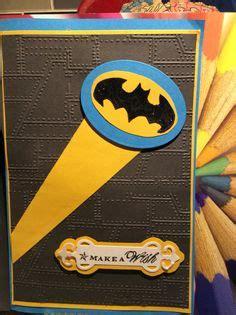 Family Batman Gold Foil Ds4519 batman birthday card quot happy birthday batman quot handmade