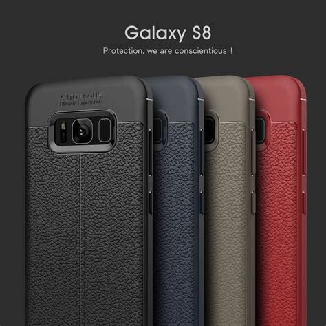 Samsung Galaxy S8 Plus Soft Original Anti Tpu By Rakki bakeey anti huella dactilar soft tpu litchi cuero caso cubierta para samsung galaxy note 8 s8