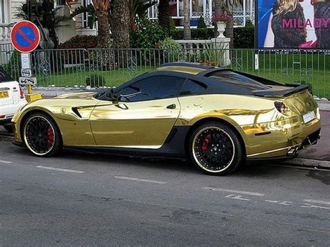 cars ferrari gold pimp my ride some most expensive pimped cars need4u com