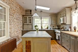 Italian Canisters Kitchen farmhouse stone traditional kitchen philadelphia