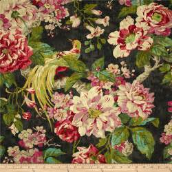 Waverly Upholstery Waverly Floral Engagement Twill Nightfall Discount
