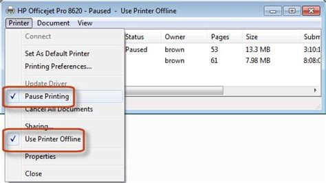 how to reset the print spooler queue how to clear printer queue windows vista download gettthink