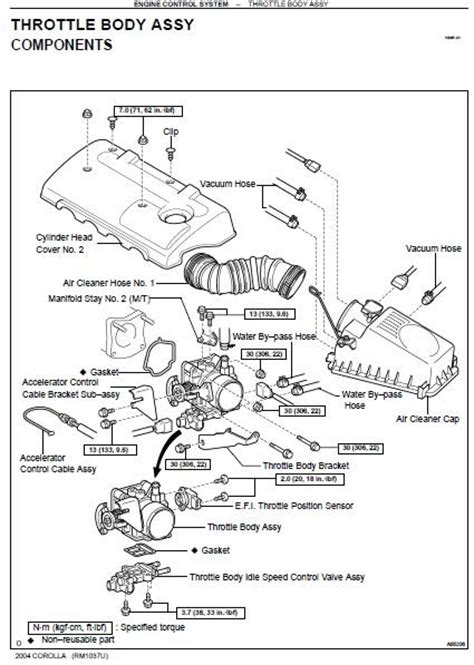 car repair manuals download 2005 toyota corolla electronic throttle control repair manuals toyota corolla 2004 repair manual