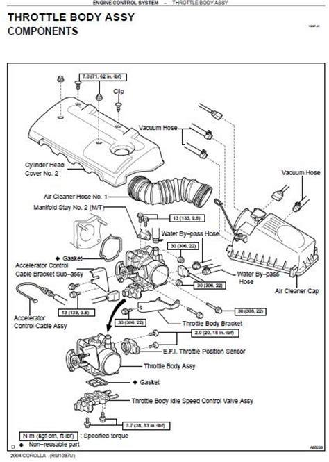 repair manuals toyota corolla  repair manual