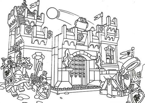 Lego World Coloring Pages | image gallery lego castle coloring pages