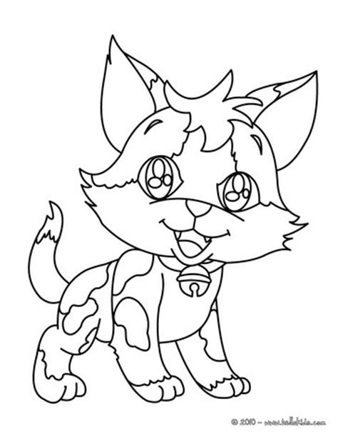 happy cat coloring page happy kitten coloring pages hellokids com