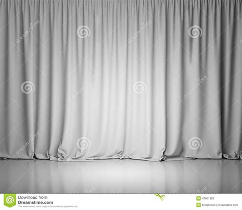 stage background design template white stage curtain background stock illustration