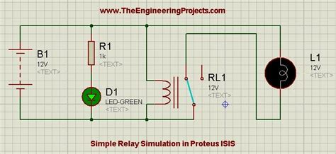 photodiode in proteus how to relay in proteus the engineering projects