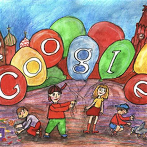 doodle 4 russia doodle 4 lands in russia for the time to