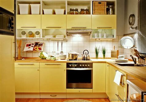 Yellow Kitchen Cabinets   Color Ideas ~ Kitchen Design