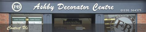 paint decorating supplies enquiry ashby decorator centre