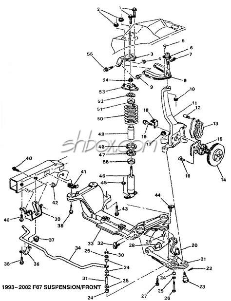front suspension diagram camaro front suspension diagram r c build