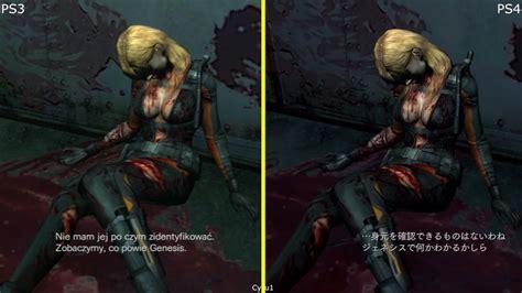 Kaset Ps4 Resident Evil Revelations resident evil revelations ps3 vs ps4 graphics comparison