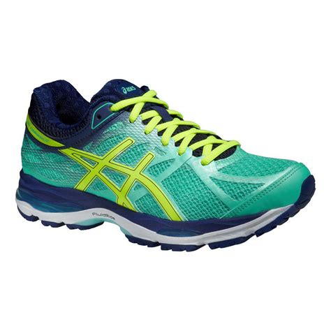 asics womens gel cumulus  running shoes aquayellow