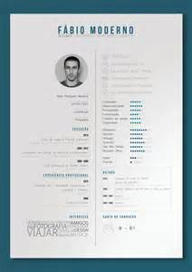 curriculum vitae by f 225 bio moderno via behance print