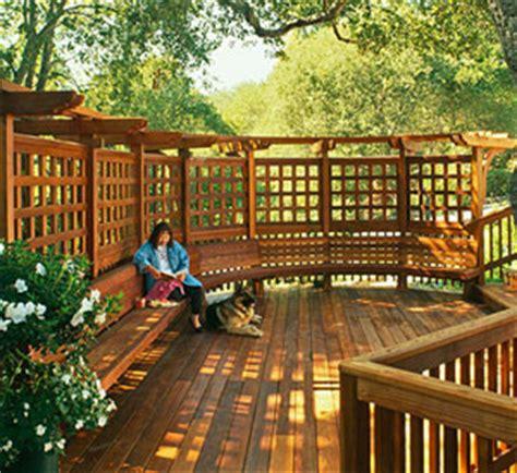 deck design tips  ways  add privacy   deck