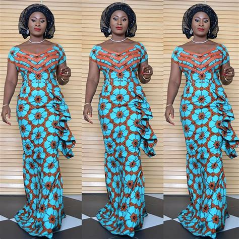 latest ankara long style gown beautiful ankara long gown style