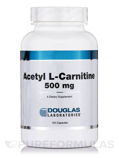 Acetylene L by Acetyl L Carnitine 500 Mg 120 Capsules
