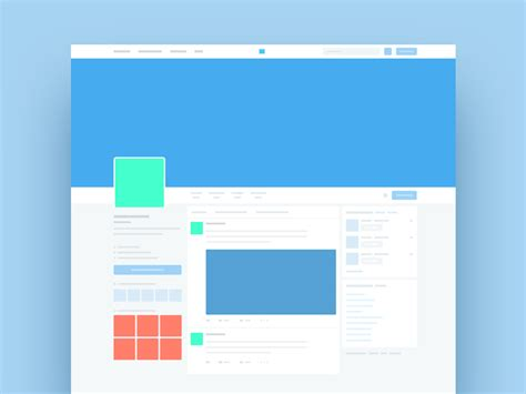 twitter template mockup psd freebie supply