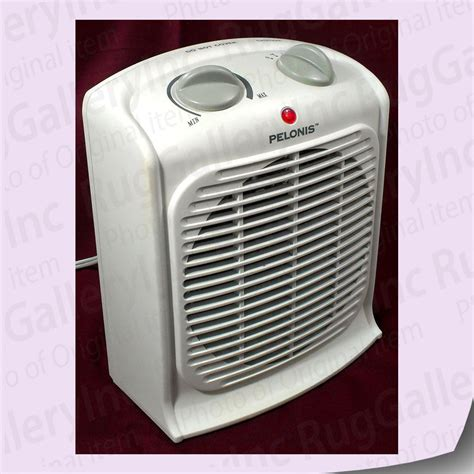 forced air fan pelonis heater thermostat fan forced portable auto small