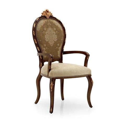 upholstered dining armchair carved crested french baroque upholstered dining armchair