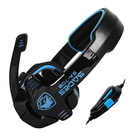 Sades Sa 608 Earphone Headset Gaming With Mic stereo gaming headphone headset just been sold