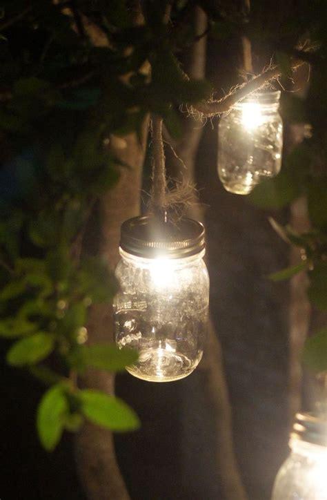 diy mason jar outdoor lights house items pinterest