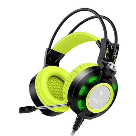 comfortable headset with mic nubwo k6 gaming headset with microphone comfortable