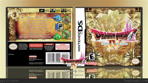 dragon quest iv chapters of the chosen faq walkthrough dragon quest iv chapters of the chosen nintendo ds box