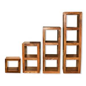 storage cube shelving cube shelving units solid sheesham wood shelving units