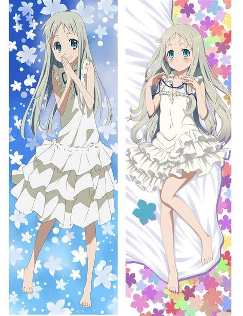 Kaos Anime Anohana 01 japan anime hugging pillow 150 50 anohana honma